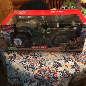 GI Joe with WILLY JEEP NEVER Open Special Edition